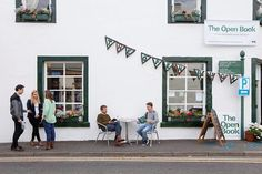 House in Wigtown, United Kingdom. Nestled into the pristine lowlands, The Open Book is a charming bookshop with apartment above in the heart of Wigtown, Scotland's National Book Town.  Live your dream of having your very own bookshop by the sea in Scotland...for a week or two.  Th...