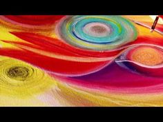 Spirit Art Meditatives mediales Malen mit Simha Mandelbaum - YouTube