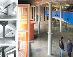 Arqueología del Futuro: 1988 Tate Gallery Liverpool [James Stirling] BIZARRE COLUMNS VIII