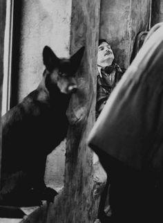 Andrei Tarkovsky en el rodaje de 'Stalker' (1979) | Galería La Noche Intermitente