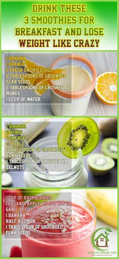 Drink These 3 Smoothies for Breakfast and Lose Weight Like Crazy http://www.4myprosperity.com/?page_id=2