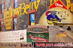George Street Newfoundland Art - Newfoundland, Canvas Frame, Wrapped Canvas, Collage, Art Prints, Street, House, Ideas, Art Impressions