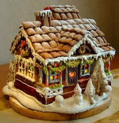 Lilicutes by Kakuseisha: Segunda Natalina - Gingerbread House
