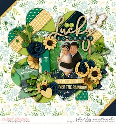 Get festive - St. Patricks day template by Cindy Schneider Get festive: St. Patricks day by Kristin Cronin-Barrow & Digital Scrapbook Ingredients