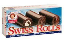Little Debbie Snacks Swiss Rolls, Box (Pack of Chocolate cake rolled around a layer of creme filling and drenched with fudge coating. Available twin-wrapped in a carton. Christmas Crafts For Kids, Christmas Desserts, Christmas Treats, Christmas Cookies, Homemade Halloween Treats, Halloween Candy, Swiss Cake, Semi Homemade, Mini Donuts