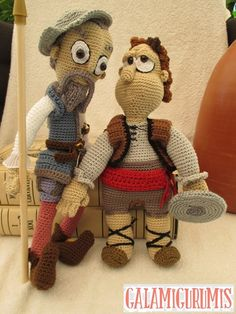 Don Quichotte en Sancho Panza