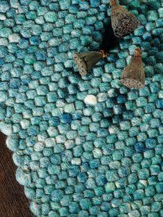Handwebteppich Florida von Tisca