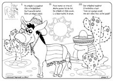 planse-de-colorat-animale-domestice-fisa-de-colorat-magar.jpg (842×599)