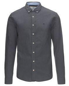 De sejeste Kronstadt Johan Crisp langærmet skjorte Kronstadt Skjorter til Herrer i lækker kvalitet
