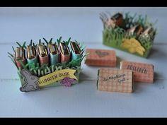 Mini-Explosionsbox für ein Ferrero Rocher mit Produkten von Stampin' Up! - YouTube
