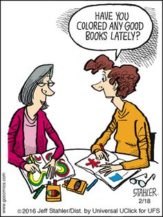 Have You Colored Any Good Books Lately