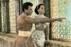 Debra Paget and Walther Reyer in The Indian Tomb (1959)