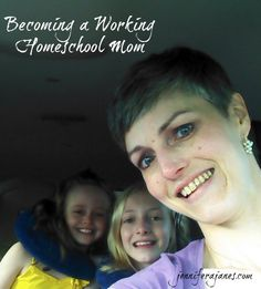 When you become a working homeschool mom, everything changes. Here's how I'm maintaining my sanity. - jenniferajanes.com