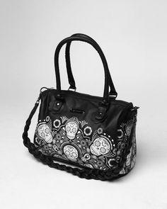 #sugar skull #purse #punk