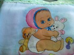 Pintura em Fralda.