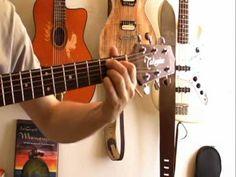 Foule sentimentale (Alain Souchon) - Cours de guitare facile - YouTube