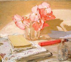 Begonias by William Nicholson