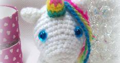 Blog sobre patrones gratis de tejidos al crochet y amigurumi Amigurumi Animals, Cat Amigurumi, Crochet Mermaid, Crochet Unicorn, Hello Kitty Crochet, Amigurumi For Beginners, Crochet Horse, Unicorn Crafts, Pet Gifts