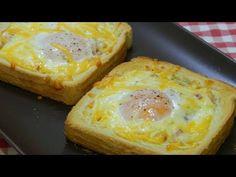 Cómo hacer tostas con huevos y bacón (Desayuno muy fácil y económico) - YouTube Tostadas, High Calorie Meals, Best Oatmeal, Energy Snacks, Good Foods For Diabetics, Steak And Eggs, Whole Grain Bread, Vegan Pizza, Evening Meals