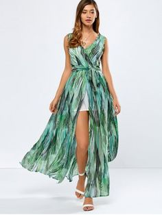 GET $50 NOW | Join RoseGal: Get YOUR $50 NOW!http://www.rosegal.com/maxi-dresses/plunging-neck-printed-wrap-high-794140.html?seid=1424208rg794140