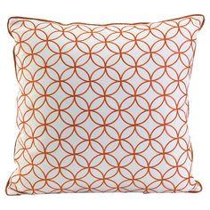 Links Pillow in Orange at Joss & Main