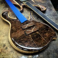 Hilton Guitars... like the inlay on the pickup covers