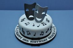 music theater cake | to read about more cakes visit my blog