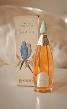 Bourjois Ramage, eau di cologne, 100ml, splash, vintage, original
