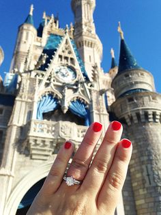 Show off your new ring at Disney Parks with the hashtag #DisneyBling on Instagram for a chance to be featured on one of our channels! #APBling   Aisle Perfect