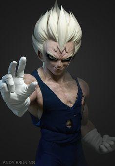 Les plus beaux fan arts 3D de Dragon Ball - Andy Brüning #02