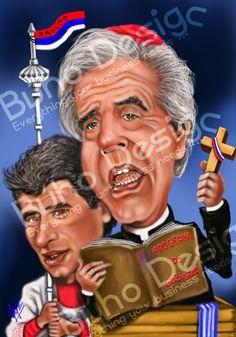 Caricaturas Tabaré Vazquez y Raúl Sendic By Búho Design & Caricatiras Uruguay  http://www.buhodesign.com.uy/ http://www.caricaturasuruguay.com.uy/