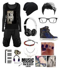 """""""My Dancing Outfit (If I ever dance XD)"""" by potatolover123 ❤ liked on Polyvore featuring interior, interiors, interior design, home, home decor, interior decorating, Rick Owens, Ray-Ban, Beats by Dr. Dre and Marc by Marc Jacobs"""