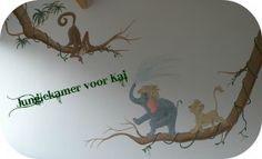 Disney Jungle - jungle book / lion king muurschildering / wallpainting