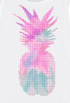 Sequined Pineapple Tank (Kids) - Tops - 2002247720 - Forever 21 UK