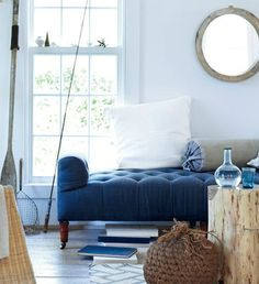 Because it's a color that surrounds us in nature, there's practically no easier shade to decorate with than blue. Check out our best tips to easing it into your home.