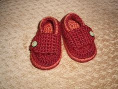 crochet newborn sweater for boys free pattern | Little Button Loafers for Ashley's baby boy