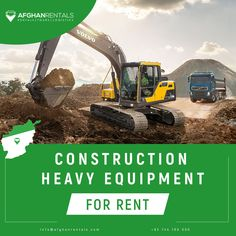 Construction Heavy Equipment for Rent in Kabul, Afghanistan! +93 744 180 000 / info@afghanrentals.com #Construction_Equipment_Rentals_in_Afghanistan #Heavy_Equipment_Rentals_in_Afghanistan #Heavy_Machinery_Rental_in_Afghanistan