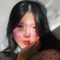 bts map of the soul persona makeup 😍 Bts Makeup, Eye Makeup Art, Makeup Inspo, Eyeshadow Makeup, Makeup Inspiration, Beauty Makeup, Hair Makeup, Makeup For Round Eyes, Concert Makeup