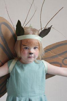 Mer Mag: Fairy Deer Costume with Cardboard Wings