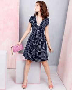 a4402fa9c968 Garden Party Knit Dress Tights Outfit