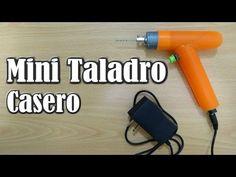 Cómo hacer un mini TALADRO CASERO para manualidades modelismo y PCB - YouTube