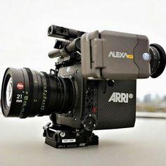 "··· "" Arri + Leica "" best of two worlds. Vlogging Equipment, Camera Equipment, Cinema Camera, Movie Camera, Camera Rig, Camera Gear, Photography Gear, Photography Equipment, Digital Cinema"