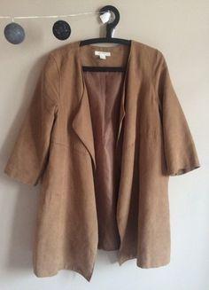 Kup mój przedmiot na #vintedpl http://www.vinted.pl/damska-odziez/inne/20765312-plaszczyk-karmelowy-hm-m-38