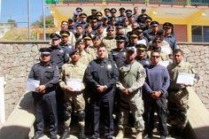 Continúa SSPE con capacitaciones especializadas a elementos de seguridad                          · Tan solo en el año ya son 475 uniformados instruidos