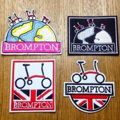 BROMPTONの記録: ブロンプトンのヘッドバッジとワッペン販売します