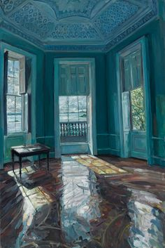Temple of the Winds, Mount Stewart by Hector McDonnell on Curiator, the world's biggest collaborative art collection. Interior Exterior, Interior Paint, Painting Inspiration, Art Inspo, Contemporary Art London, Guache, Irish Art, A Level Art, Sense Of Place