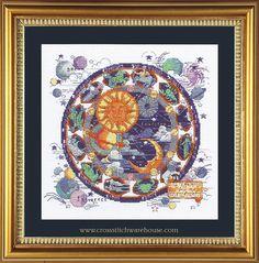 Needlecraft and crossstitch patterns Fantasy Cross Stitch, Celestial, Classic, Pattern, Derby, Patterns, Classic Books, Model, Swatch