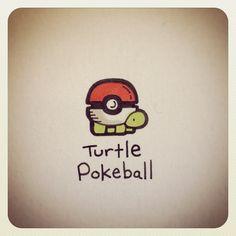 Turtle Pokeball #turtleadayjune - @Stephanie Macias James Couture Portraits Wayne- #webstagram