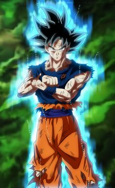 Goku Ultra Instinct by SenniN-GL-54.deviantart.com on @DeviantArt