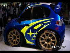 Mini Subaru WRX STi